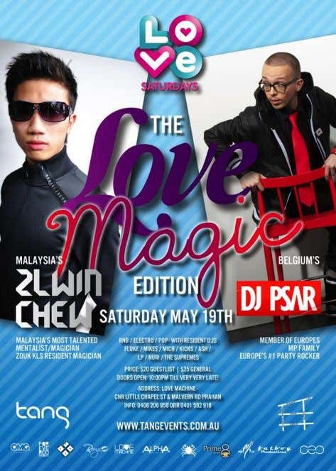 Magic is versatile and unique in many ways and Zlwin specializes in club performances. Being