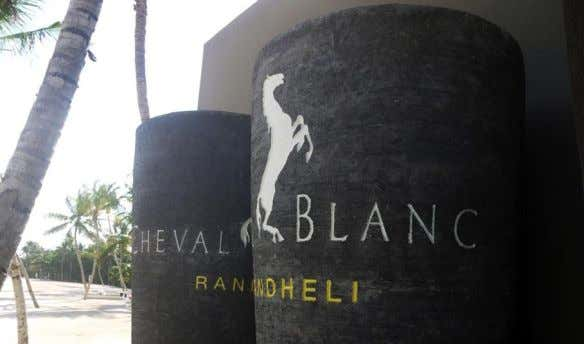 Cheval Blanc Randheli. Maldives, a hotel managed by LVMH (Louis Vuitton Moet Hennessy) invited Zlwin