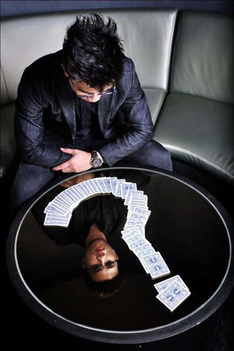 Zlwin specializes in Mentalism, a sub-division of Magic. Blurring the lines between reality and imagination,