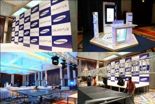 The event was attended by the CEOs and marketing directors of Samsung Korea, Samsung Gulf Electronics