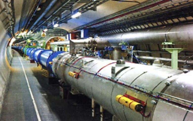 to the Fermi accelerator in USA and the Large Hadron Accelerator (LHC) i Cern , Switzerland.