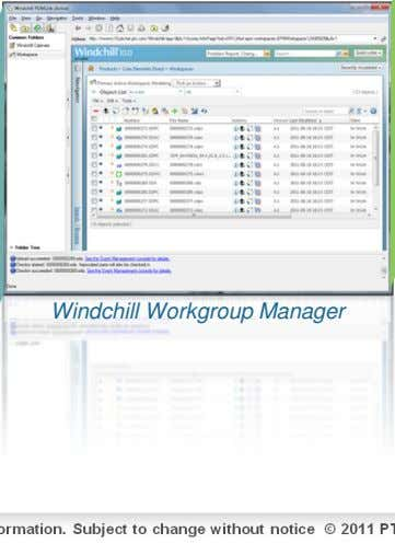Windchill Workgroup Manager