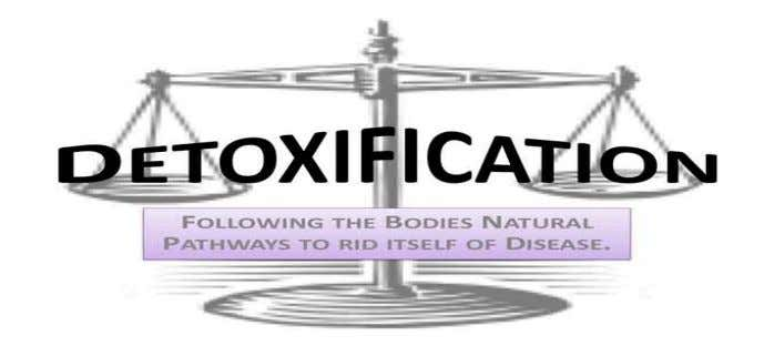 treatments; it is wise to utilize them whenever possible. C). Det oxification of heavy metals &