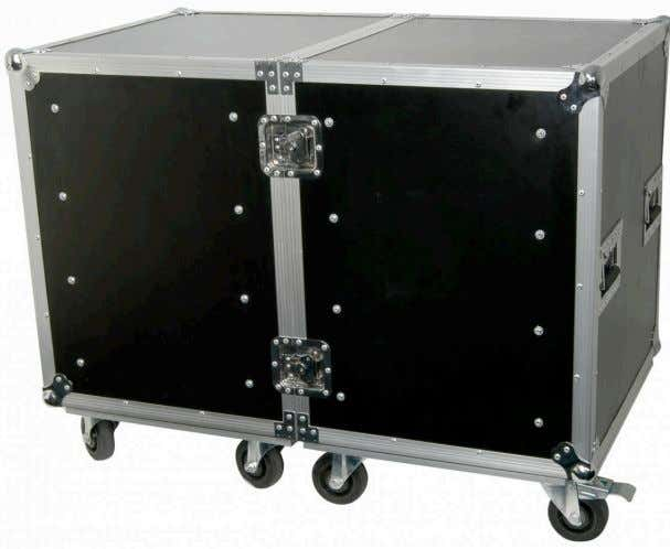 PROTECTION THE ULTIMATE CASE FOR ULTIMATE PROTECTION Protect your investment with a premium quality flight case