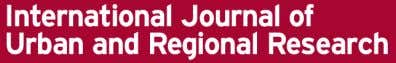Volume 38.1 January 2014 198–217 International Journal of Urban and Regional Research DOI:10.1111/1468-2427.12103 City