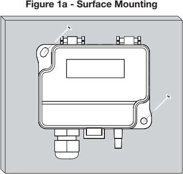 Figure 1a - Surface Mounting