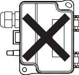 Figure 1b - Mounting Orientation YES NO NO