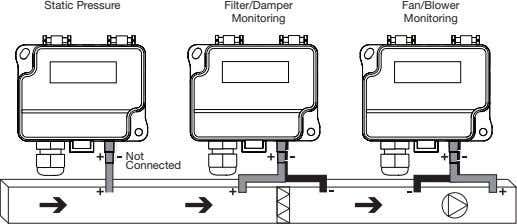 Static Pressure Filter/Damper Fan/Blower Monitoring Monitoring Not Connected