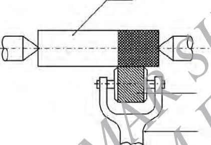 s haped. Fig. 1.35 shows the operation of kn urling. Work Knurling roll Tool holder Fig