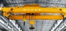 Double girder overhead crane is widely used lifting equipment currently. Consis of bridge frame, crane