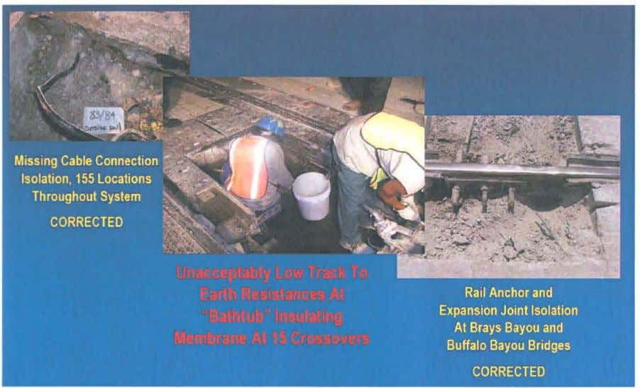 - Stray Current Corrosion Deterioration Of Steel Structures FIGURE 4 - Corrosion Control Construction Deficiencies