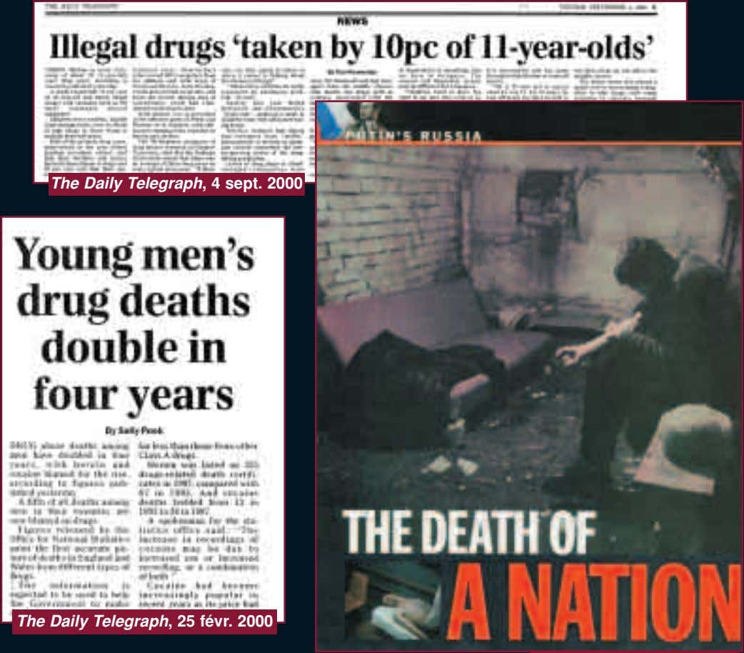 The Daily Telegraph, 4 sept. 2000 The Daily Telegraph, 25 févr. 2000