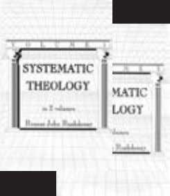 is Reformed, Theonomic, Postmillennial and Presuppositional. By R. J. Rushdoony. Theology belongs in the pulpit, the