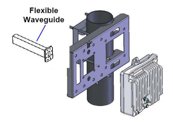 between the RFU-C and the flexible waveguide. 6-11 GHz Adapter 13-38 GHz FibeAir ® RFU-C Product