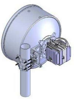 Used to change from vertical to horizontal polarization. Twist Coupler Kit FibeAir ® RFU-C Product Description