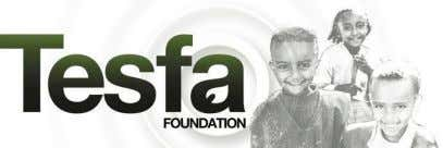 Beautiful Social : Social Media Report & Analysis The Tesfa Foundation Recommendations for The Tesfa