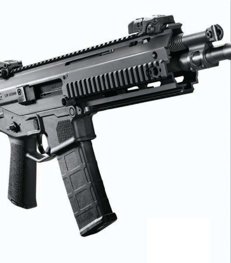 ambidextrous and the uncompromising choice when you demand a rifle as mission-adaptable as you are. The