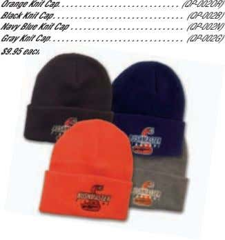 Orange Knit Cap Black Knit Cap (QP-002OR) (QP-002B) Navy Blue Knit Cap (QP-002N) Gray Knit
