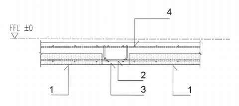 BUILDABLE SOLUTIONS FOR HIGH-RISE RESIDENTIAL DEVELOPMENT CHAPTER 2 43 1. PC half slab 2. Rebars