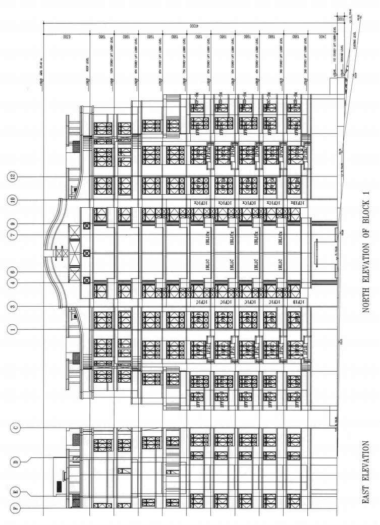 MANAGING PRECAST Concrete Components CHAPTER 4 68 Fig. 4.6 – Elevation details showing façade location