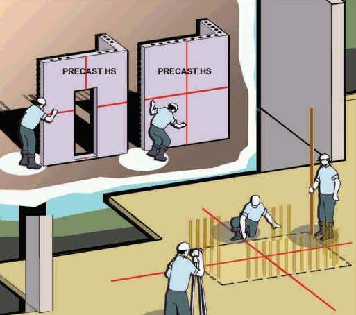 household shelter with L shaped panel are as follows: Operation Flow 1 PREPARATION WORK BEFORE INSTALLATION