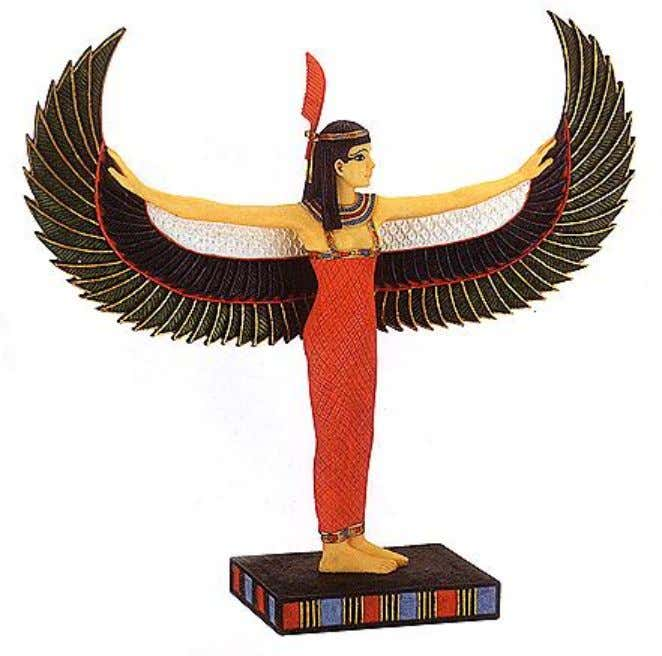Egyptian Goddess Maat The Goddess of Truth.