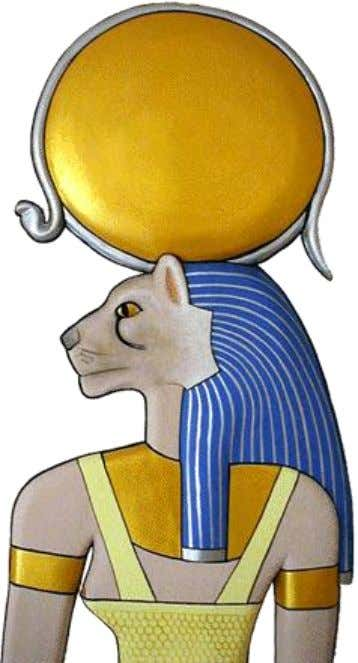 Mighty One. Sekhmet A sun goddess