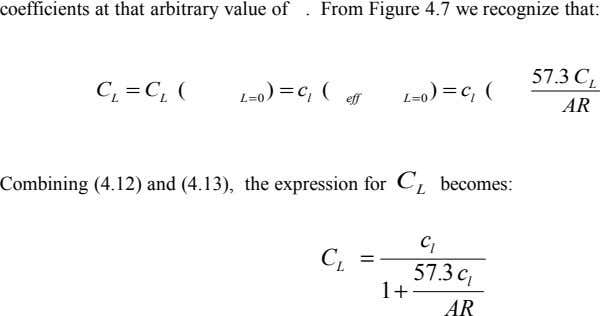 coefficients at that arbitrary value of . From Figure 4.7 we recognize that: 57 3 C