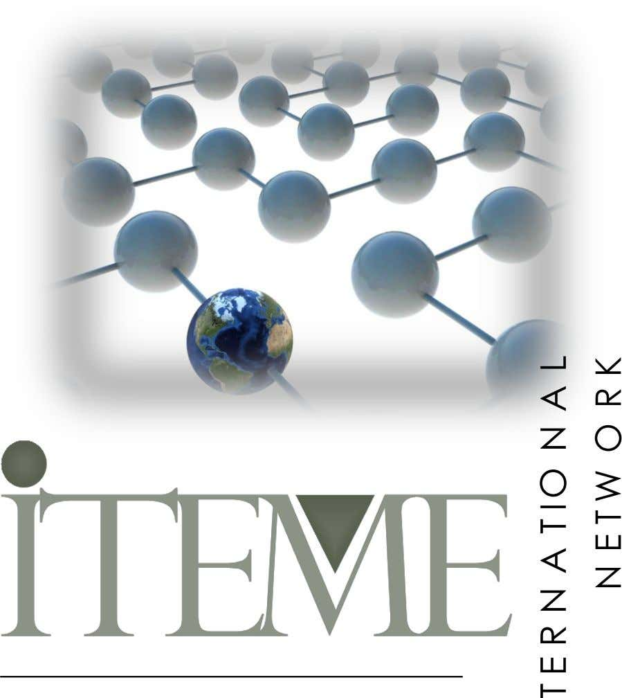 ITEME is the consultancy branch and network of Methodologica Universitas, Graduate School of Methodology of