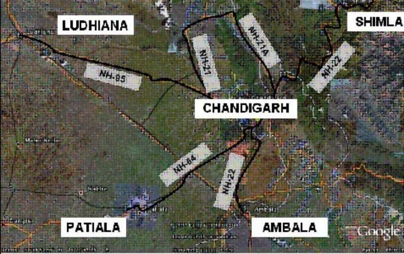 Lets understand the concept of neighborhood through studying the plan of Chandigarh… URBAN FORM U R
