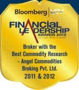 anuj.choudhary@angelbroking.com (022) 2921 2000 Extn. 6132 Angel Commodities Broking Pvt. Ltd. Registered Office: G-1,