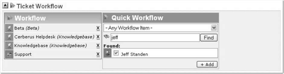 3 New Concepts in Cerberus Helpdesk 3.0 Workflow One of the major enhancements in Cerberus 3.0