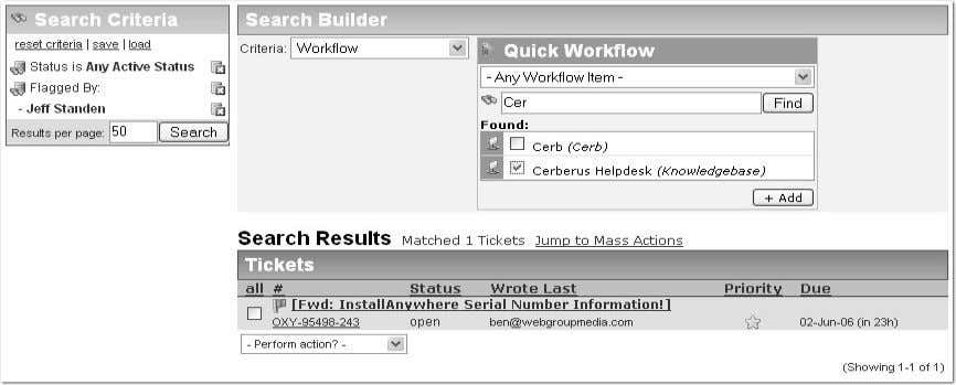 Search Builder / Search Criteria The search system has been simplified and super-charged. Instead of cluttering