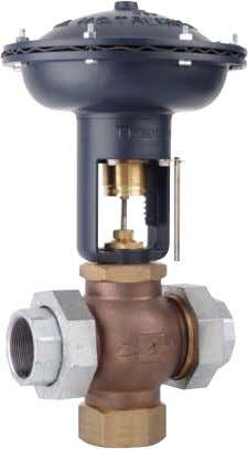 (-40°C) to 410°F (210°C) Temperature W910TB NOT FOR USE WITH STEAM CONTROL VALVES 9.3 [236] Air