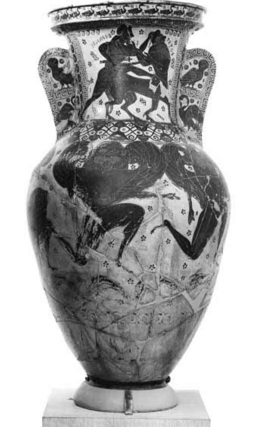 4 part i approaches to greek archaeology 1.1 Nessos amphora unclear; it was found, like its