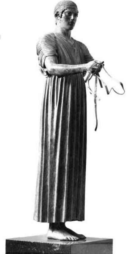8 part i approaches to greek archaeology 1.2 Delphi Charioteer associated, gives the name of a