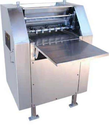 b. Mutchall Semi-Automatic wire cut cookie machine Información: http://www.mutchall.com/semi_automatic.html c.