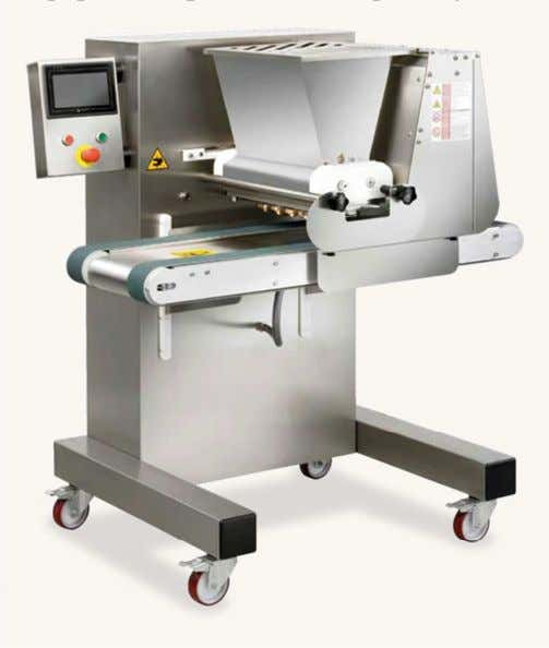 d. Empire Baker Equipment Suprema cookie depositing machine Información: