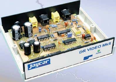 supplied. Some SMD component soldering required. Stock 9VAC Wall Adaptor required (Jameco part no. 226131CD $4.49)