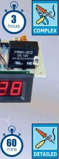 with PCB, LCD readout, and all electronic components. Simple Voltage Switch Kit KC-5377 $17.30 Suits a