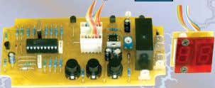 Kit supplied with PCB, and all electronic components. Explanation of icons used for kits. The kit