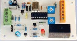 Kit supplied with PCB, and all electronic components. High Range Adjustable Temp Switch Kit with LC