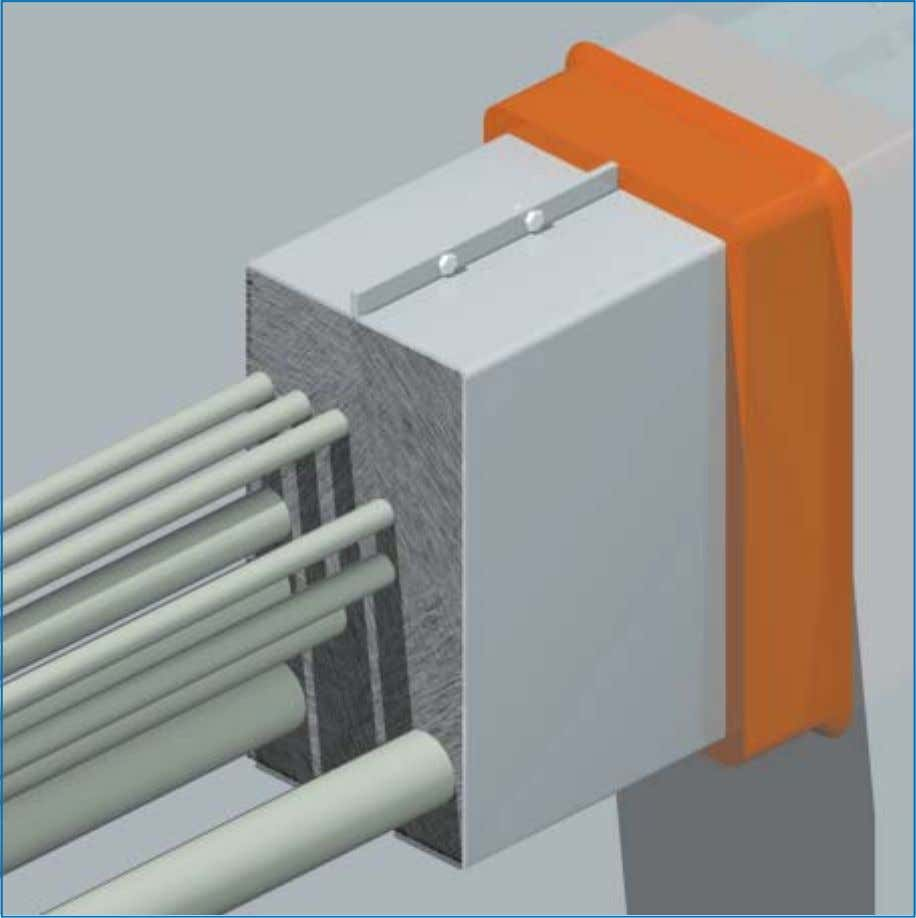 extension frames the required depth can easily be obtained. The advantage of upgrading with RISE ®