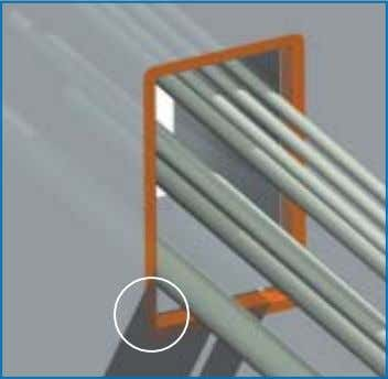 transit frame. This is necessary to obtain a tight seal. ANOTHER OPTION IS TO INSTALL A