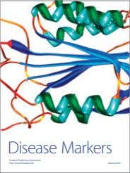 Disease Markers Hindawi Publishing Corporation http://www.hindawi.com Volume 2014