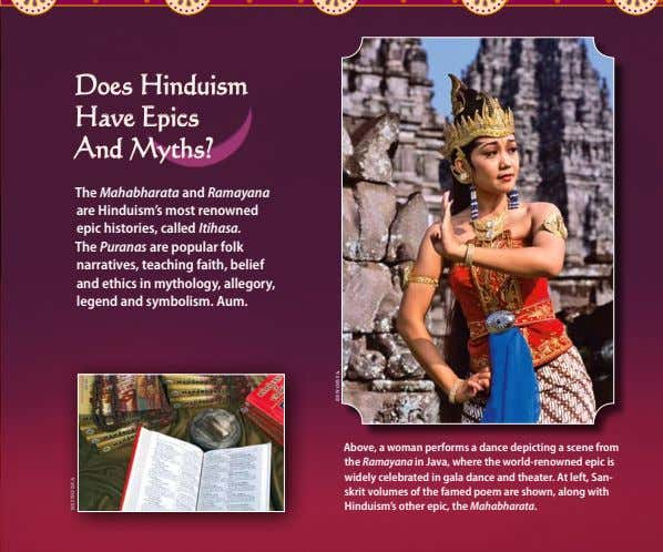 Does Hinduism Have Epics And Myths? The Mahabharata and Ramayana are Hinduism's most renowned epic