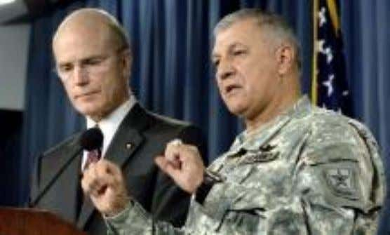INVESTIGATIONS Press Briefing July 31 s t 2007 Secretary of the Army Pete Geren & Gen.