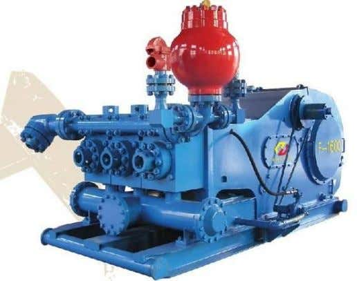 TRIPLEX SINGLE ACTING Pompa ini termasuk jenis Positive Displacement Pump atau Reprocating Pump yang dilengkapi dua