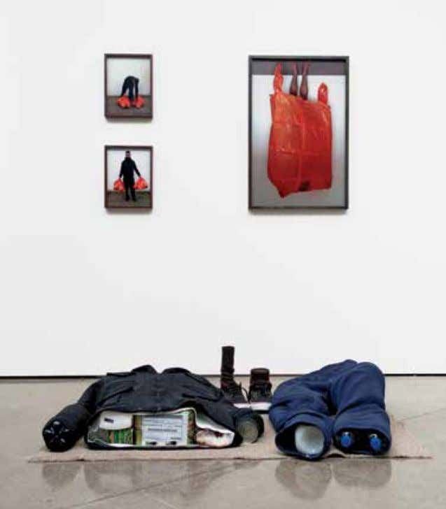 something which is finite are represented by the dialogue between photographs and objects on the gallery
