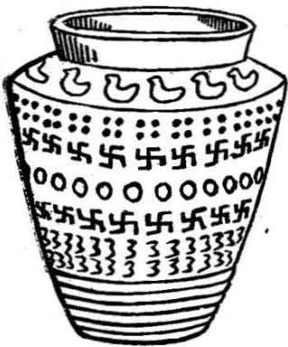 daily trans-- actions, we seldom if ever stop to reflect: Jar of the ·Bronze Age ,found